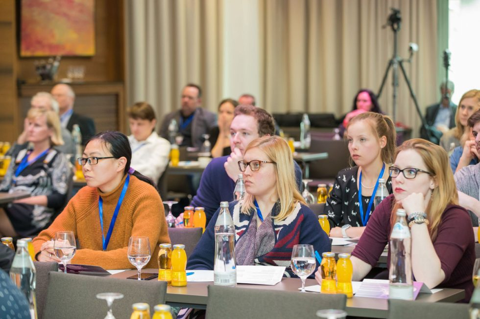 Audience at Salzburg Breast Cancer Talk 2019
