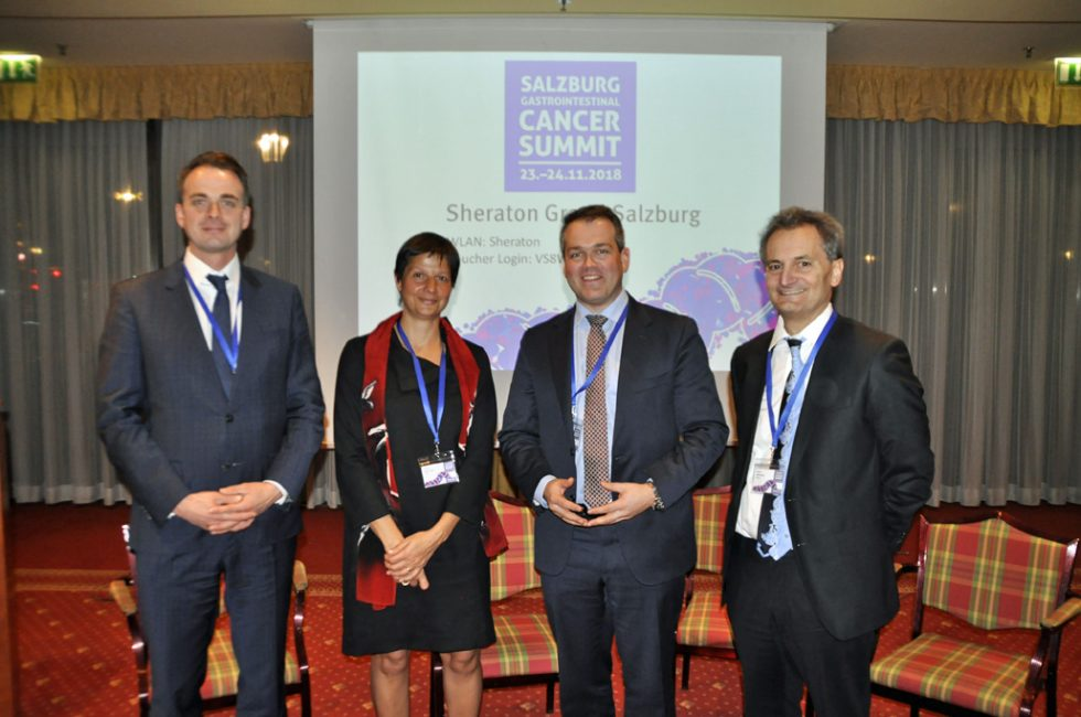 Gruppenfoto GI Cancer Summit 2018