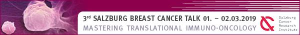 Banner Salzburg Breast Cancer Talk 2019
